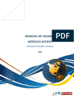 1. Manual de Usuario - Acceso