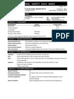 MSDS - SEALXPERT PS102 STEEL REPAIR PUTTY REV 6.pdf