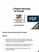 Future Peanut Sourcing for Europe