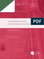 (Bamberger Interdisziplinäre Mittelalterstudien. Vorträge Und Vorlesungen, 4) Stephan Albrecht (Hrsg.)-Der Bamberger Dom Im Europäischen Kontext-University of Bamberg Press (2015)