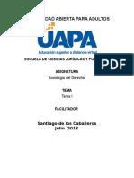 Sociología General y Sociología Del Derecho,