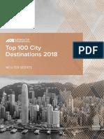 Top 100 City Destinations 2018