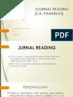 Journal Reading (CA Pankreas)