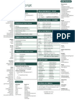 Javascript Cheat Sheet v1