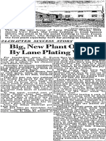 Lane Plating, July 16, 1950