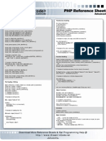 Php Advanced Reference Sheet