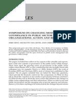 New Mode of Governance 2007