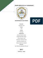 Informe de Geologia I