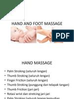 Tehnik Hand and Foot Massage