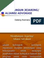 jejaring advokasi