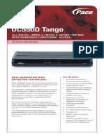 DECO Cablevision Dc550d Spec