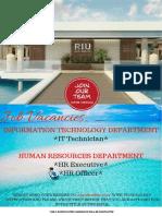 Job Advert 04122018