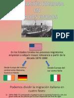 Unidad 7 Italianos en EEUU - Federica Becca