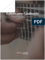Estudios Para Guitarristas Estudio 1