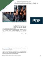 Quanto Ganha Um Policial Da Polícia Militar