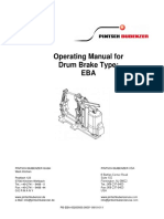 Pintsch Bubenzer Eba Parts Manual
