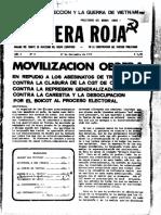 Bandera Roja n° 9 (1° septiembre 1972)