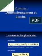 0 337648757 Poutres Dimensionnement Et Dessin Ppt