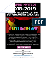 2018-2019 Season Preview for Pima County Educators