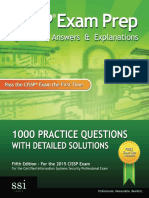 CISSP Exam Prep Questions, Answers & Explanations