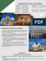 Arsitektur Pra Modern