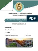 INFORME PREVIO 3 DE INSTRUMENTOS DE TELECOMUNICACIONES - UNI
