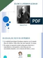 Teoría de la personalidad Sigmund Freud