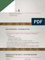 DSM 5 Intro
