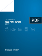 Canada Food Price Report 2019