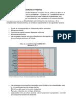 Competitividad y Estructura Economica