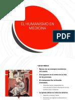 Humanismo y Medicina 2018