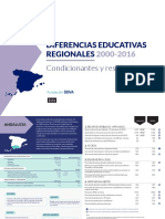 Diferencias Educativas Regionales 2000-2016 (2018)