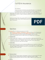 Benefit of Fdi in Insurance
