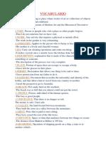 Las 50 Palabras de Ingles