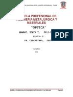 Monografia de Optica