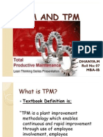 SCM AND TPM PPT