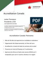 Acreditación canadience