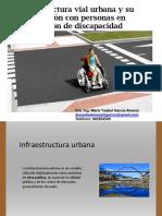 Infraestructura Vial Urbana - Discapacidad