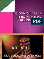 ejecución de las penas, en guatemala