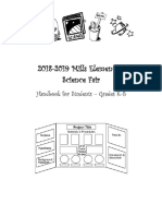 science fair packet 18-19