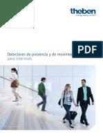 201811 Theben Catálogo Detectores de Presencia y de Movimiento Para Interiores 2018