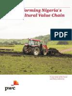 Transforming Nigeria s Agric Value Chain