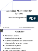 Embedded Micro Controller Systems