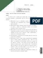 Causa del Juzgado de Letras de Atacama