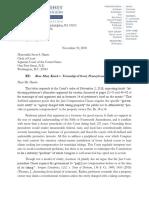 Township of Scott's Supplemental Letter Brief, Knick v. Township of Scott, No. 17-647 (Nov. 30, 2018)