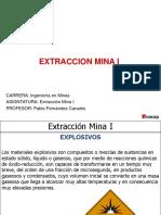 Extraccion Mina I - Explosivos Clases