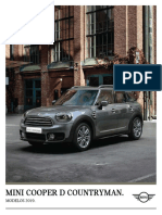 Ficha 2019 MINI Countryman Cooper D