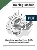 Automotive Retail Training; Phone Module