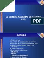 V PEREYRA EL SISTEMA NACIONAL DE DEFENSA CIVIL- VIVANCO.ppt