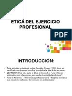 Etica Profesional y de La Accion Publica